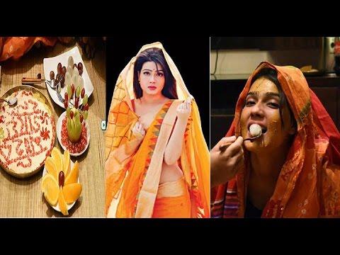 Mahiya Mahi Wedding and Gaye Holud Exclusive Video