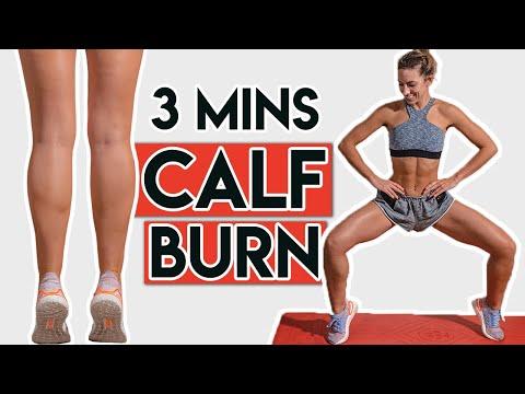 Quick Calf Workout! Tone Your Calves!
