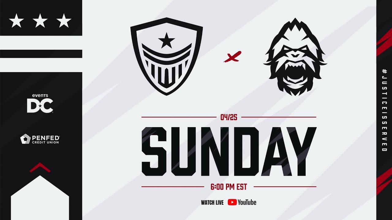 Washington Justice vs. Vancouver Titans Official Co-Stream