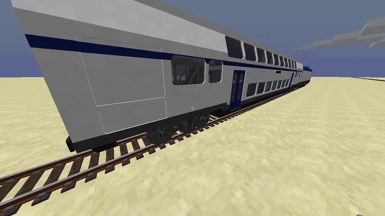 мод на майнкрафт 1.7.10 на поезда #5