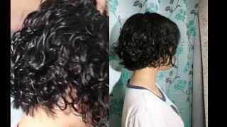 How to Short Hair Curl, การดัดผมสั้นให้ดูพองและหนา