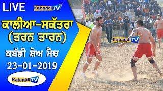 🔴 [LIVE] Kalia Saktra (Tran Taran) Kabaddi Show Match 23 Jan 2019 www.Kabaddi.Tv