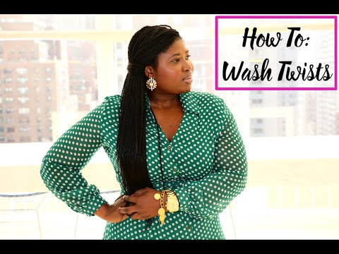 How to Wash and Care for Senegalese Twists