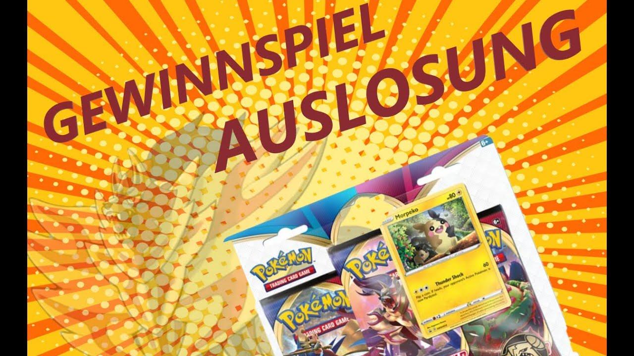 GEWINNSPIEL AUSLOSUNG - Pokemon Roulette Booster Opening - Blister / Schwert Schild