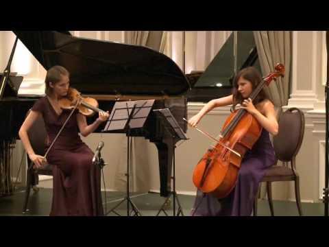 Rachmaninoff, Trio élégiaque No.1 in G min. Joseph Calleja and Drake Calleja Trust Scholars