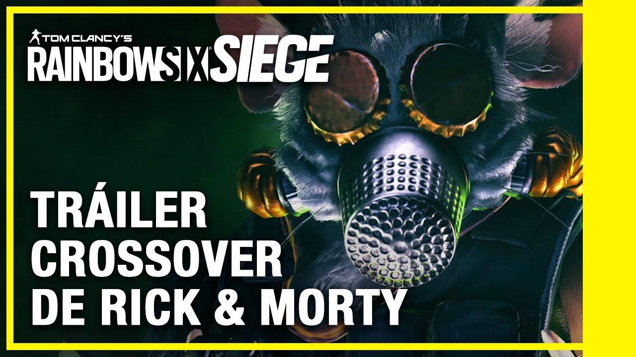 Rainbow Six Siege - Crossover de Rick y Morty Tráiler | Ubisoft LATAM