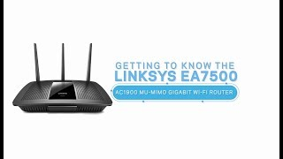 Linksys Official Support - Linksys EA7500 Max-Stream™ AC1900