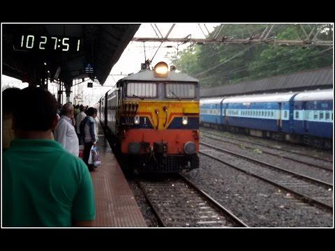 "'Aggresive"" Kalyan WCAM3 #21948 With 11025 Bhusawal -Pune Express Skipped GRWD At MPS"