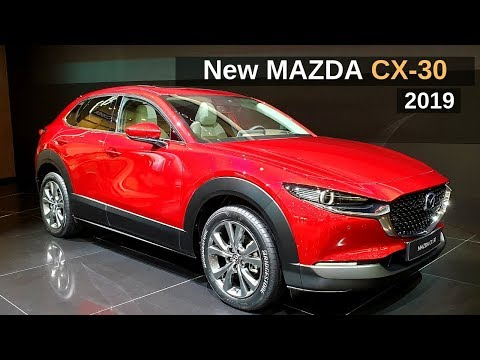 New MAZDA CX-30 SUV 2019 Review Interior Exterior