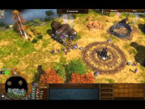 War Dance - Age Of Empires 3 The Warchiefs - Act 1 Mission 1 - Hard