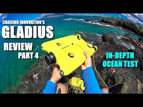 GLADIUS Submersible ROV Drone Review - Part 4 - In-Depth Oce
