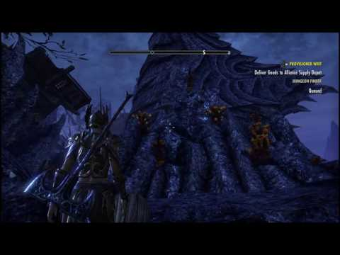 Washed To Strange Shores Within The Fleet - ESO- Coldharbour Skyshard
