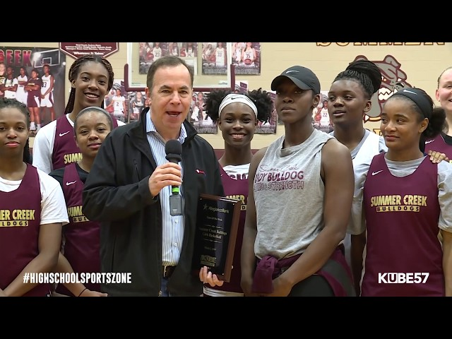 Team of the Week - Summer Creek Basketball Girls - HSSZ Episode 3-2-19