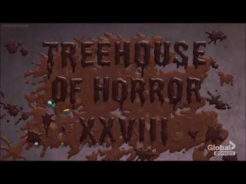 The Simpsons Treehouse of Horror XXVIII End Credits Music