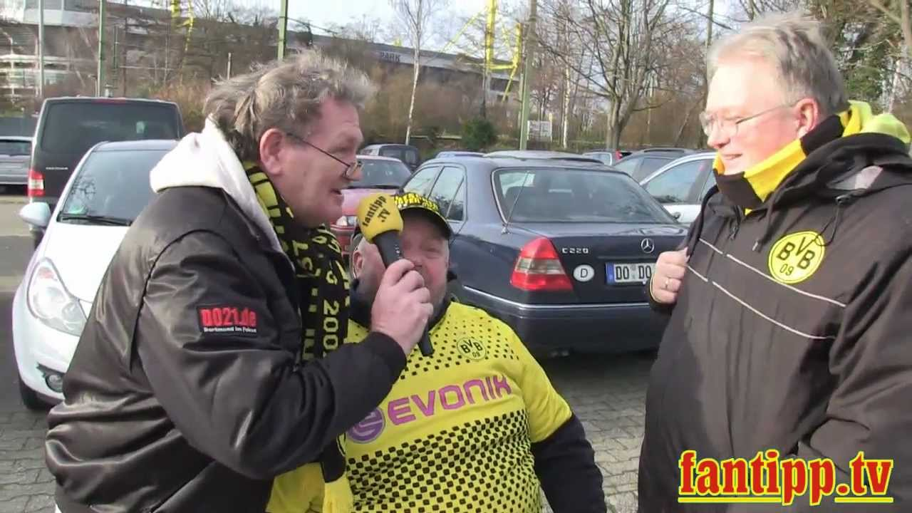 Borussia Dortmund - 1. FC Kaiserslautern 1:1 Fantipp und Song: *You-´ll never walk alone