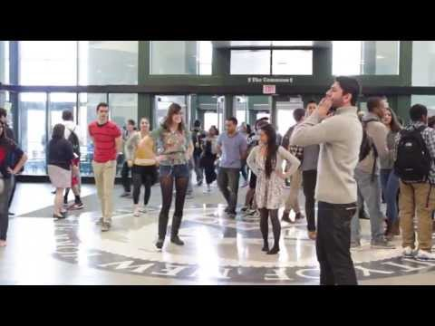 Dabke Flashmob- University at Buffalo