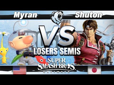 Armada | Myran (Olimar) vs. SST | Shuton (Richter) - Losers Semis - Frostbite 2019