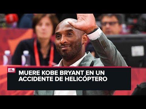 Último minuto: Muere la leyenda del baloncesto Kobe Bryant