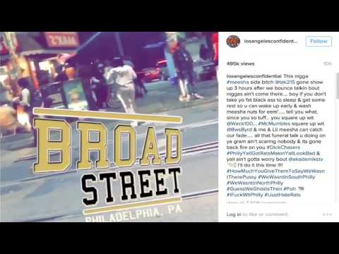 The Game Pulls Up To Philly and Baltimore To Shoot Meek Mill Diss Song