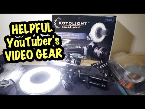 Helpful YouTuber's Video Gear - Rotolight stuff Multi-Review