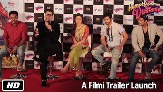Humpty Sharma Ki Dulhania - A Filmi Trailer Launch