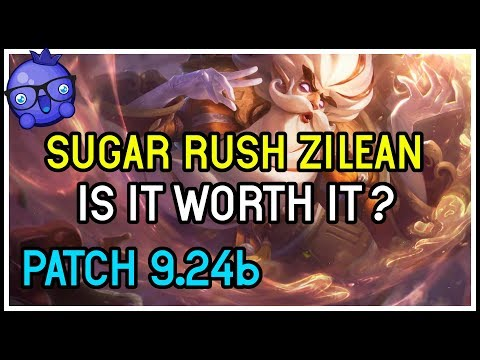 Is the NEW Zilean Sugar Rush skin Worth it?