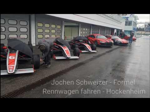Jochen Schweizer - Formel Renwagen fahren - Hockenheim - WOW Erlebnis