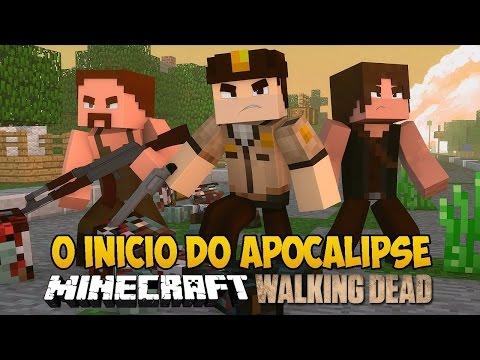Minecrat The Walking Craft - O início do APOCALIPSE