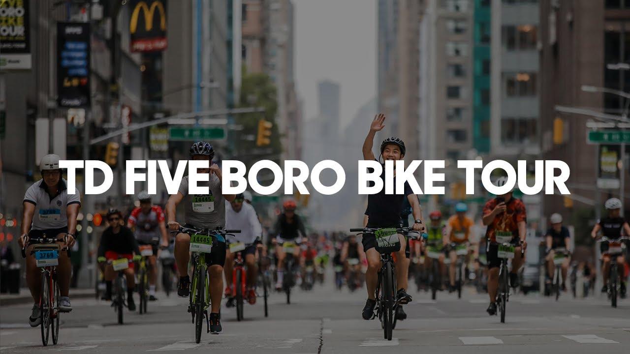 Ride The Td Five Boro Bike Tour