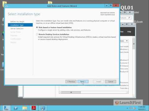 Preparing Your Environment to Install SQL Server 2012