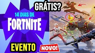 FORTNITE-EVENT 14 DAYS OF FREE ITEMS AND 2 SECRET SKINS COMING UP? PATCH 7.1