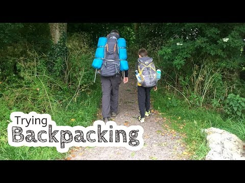 Trying Out Backpacking To A Campsite