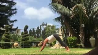 Не самый лучший видеоурок по йоге