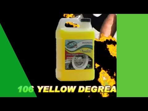 Wheel and Tire Degreaser to remove brake dust and grime
