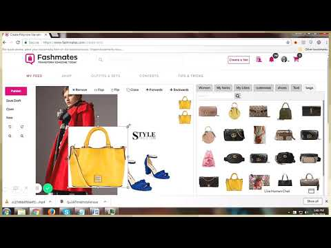 How To Create A Set In Fashmates | Desktopversion
