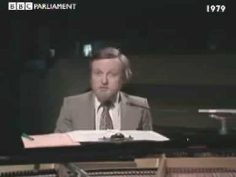 Richard Stilgoe sings the 1979 General Election
