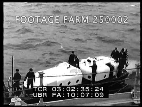Hoover And Party Sail For Porto Rico And Virgin Islands 250002-02 | Footage Farm