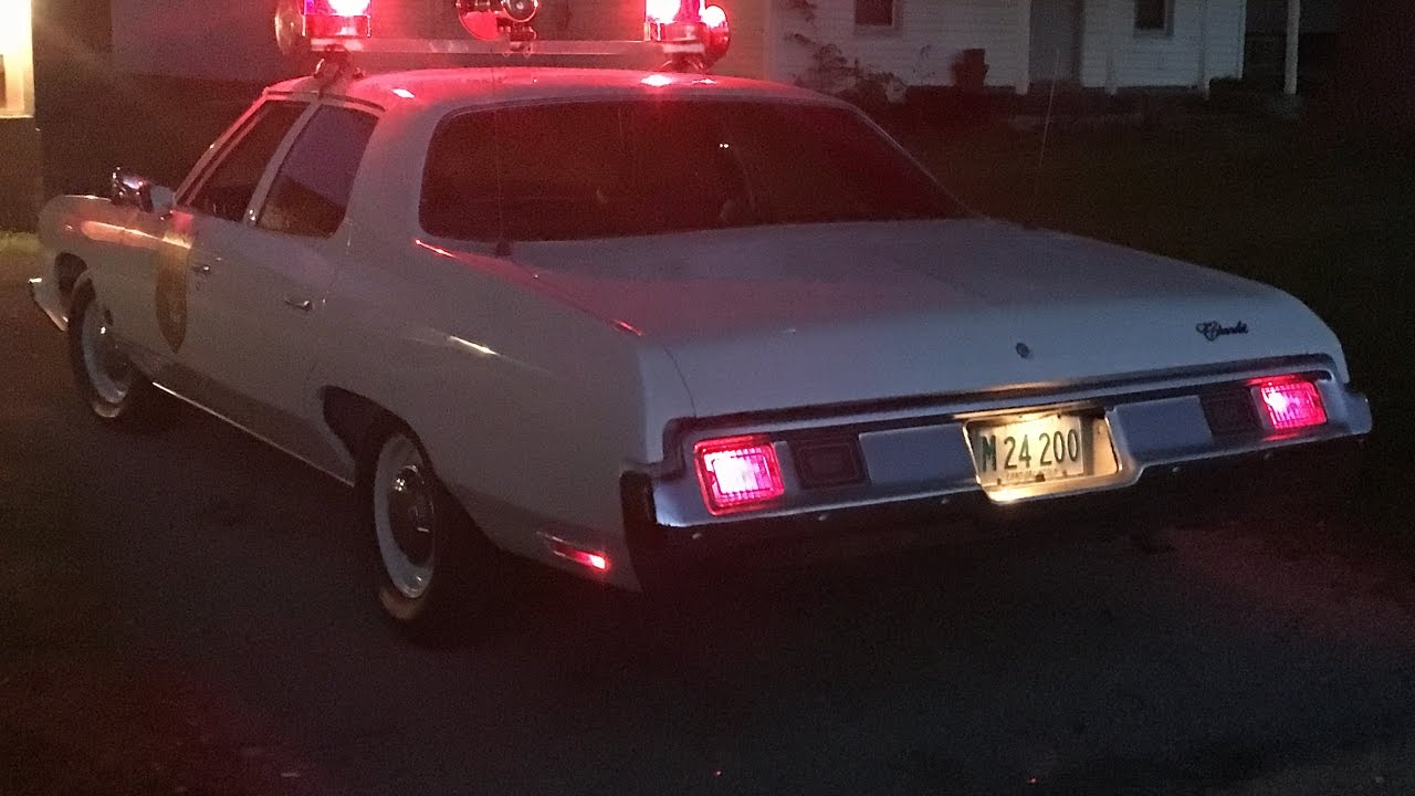 1973 Chevrolet Belair Lincoln Police Car Reproduction 3 Unit 38