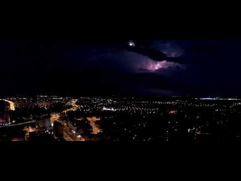 Legnica At Night - Cinematic Drone Film
