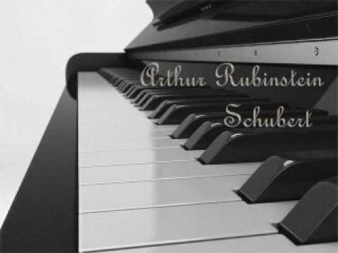 Arthur Rubinstein - Schubert Piano Sonata, D 960 - Andante sostenuto (3)