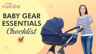 Baby Gear Essentials – What Your Baby Needs