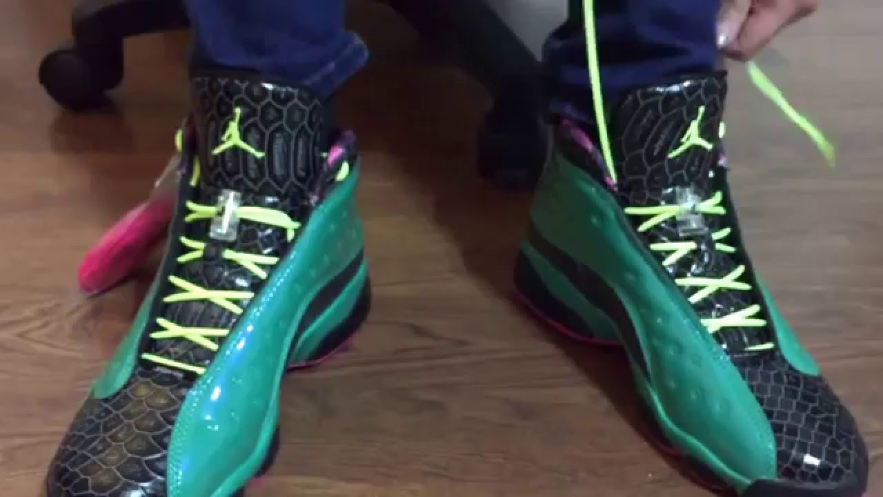 half off 0f9b2 5abd4 Jordan Retro 13 Doernbecher unboxing and on feet review