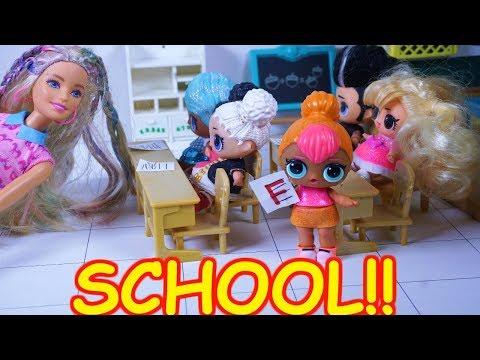 LOL SURPRISE DOLL Cutie Cheats On Her School Test!