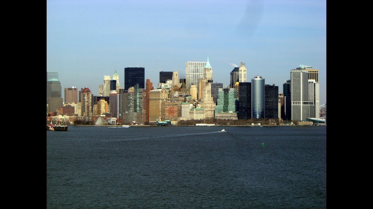 Manhattan Landscape New York City New York State United States - Is new york in the united states