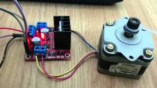 Điều khiển động cơ bước bằng modul L298 thumbnail