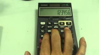 バンコク買った電卓で2キーロールオーバー