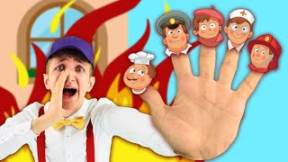 Finger Family Jobs Song for kids, Learn Professions with Nursery Rhymes