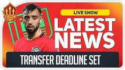 Bruno Fernandes Transfer Deadline Set! Man Utd Transfer News