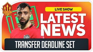 Bruno Fernandes Transfer Deadline Set! Man Utd Transfer News