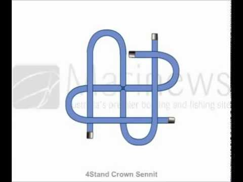 How to tie 4Stand Crown Sennit